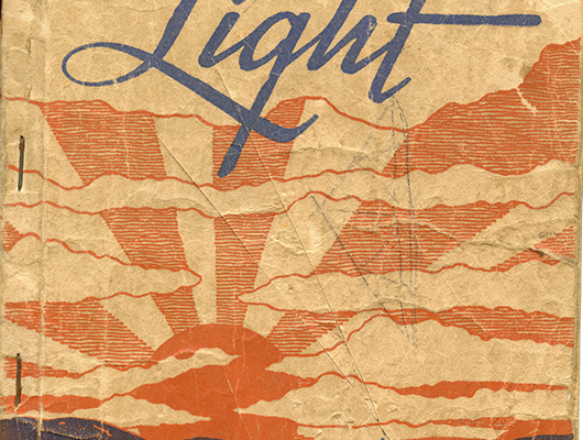 """""""Morning Light"""" Songbook, Cover"""